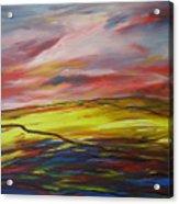 Mount Callan Sunlight Acrylic Print