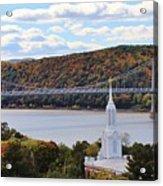 Mount Carmel And The Mid Hudson Bridge Acrylic Print