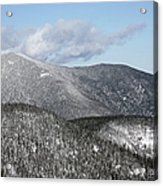 Mount Carrigain - White Mountains New Hampshire Usa Acrylic Print