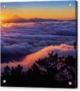 Mount Constitution Sunrise Acrylic Print