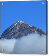 Mount Cotacachi Above The Clouds Acrylic Print