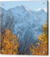 Mount Currie Autumn Acrylic Print