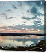 Mount Dora Fl Sunset Acrylic Print