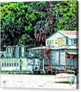 Mount Dora Lakeside Acrylic Print