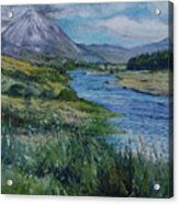 Mount Errigal Co. Donegal Ireland. 2016 Acrylic Print