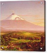 Mount Etna Acrylic Print