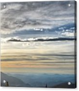 Mount Evans Painterly 1 Acrylic Print