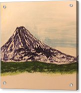 Mount Fuji And Power Of Mystery Acrylic Print