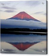 Mount Fuji Acrylic Print by Japan from my eyes
