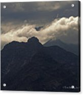 Mount Graham Mountain In Arizona Acrylic Print