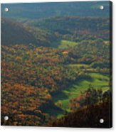 Mount Greylock Foliage View Acrylic Print