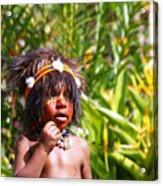 Mount Hagen Papua New Guinea Aog 91 Acrylic Print