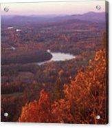 Mount Holyoke Foliage Acrylic Print