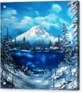 Mount Hood - Opus 2 Acrylic Print