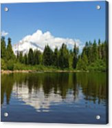Mount Hood By Mirror Lake Acrylic Print