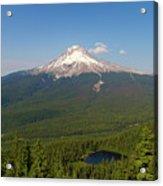 Mount Hood Over Mirror Lake Acrylic Print