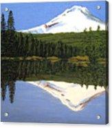 Mount Hood-Trillium Lake Acrylic Print