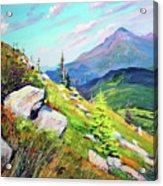 Mount Hoverla Acrylic Print