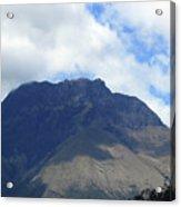 Mount Imbabura And Cloudy Sky Acrylic Print