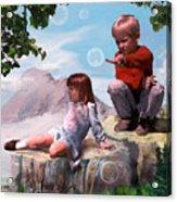 Mount Innocence Acrylic Print by Steve Karol