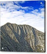 Mount Katahdin In Baxter State Park Maine Acrylic Print by Brendan Reals