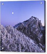 Mount Liberty Blue Hour Acrylic Print