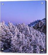 Mount Liberty Blue Hour Panorama Acrylic Print