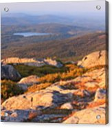 Mount Monadnock Summit View Acrylic Print