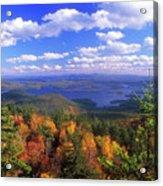 Mount Morgan Squam Lake Foliage Acrylic Print