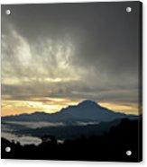 Mount Of Borneo Malaysia Acrylic Print