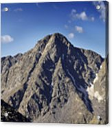 Mount Of The Holy Cross In The Sawatch Range Of The Colorado Rockies Acrylic Print