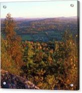 Mount Philo Foliage View Acrylic Print