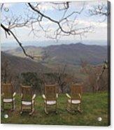 Mount Pisgah View Acrylic Print