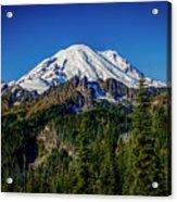 Mount Rainier - Eastside Acrylic Print