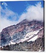 Mount Rainier Closeup Acrylic Print