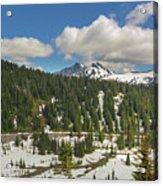 Mount Rainier National Park Tatoosh Range Acrylic Print