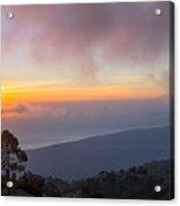 Mount Rinjani Acrylic Print