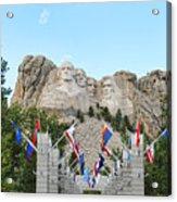 Mount Rushmore Entrance  8713 Acrylic Print