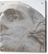 Mount Rushmore George Washington Acrylic Print