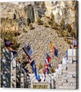 Mount Rushmore Grand View Terrace Acrylic Print