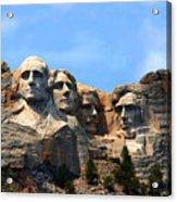 Mount Rushmore In South Dakota Acrylic Print
