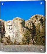 Mount Rushmore National Memorial Acrylic Print