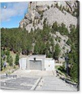 Mount Rushmore National Monument Amphitheater South Dakota Acrylic Print