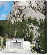 Mount Rushmore National Monument Overlooking Amphitheater South Dakota Acrylic Print