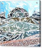 Mount Saint Auto Crush Acrylic Print