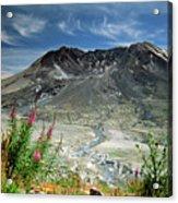Mount Saint Helens Caldera Acrylic Print