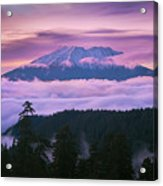 Mount Saint Helens Sunset Acrylic Print