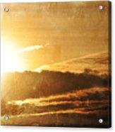 Mount Shasta Sunrise Acrylic Print