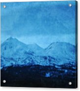 Mount Shasta Twilight Acrylic Print