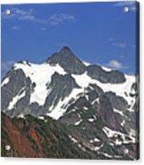 Mount Shuksan In The Cascade Mountains Acrylic Print